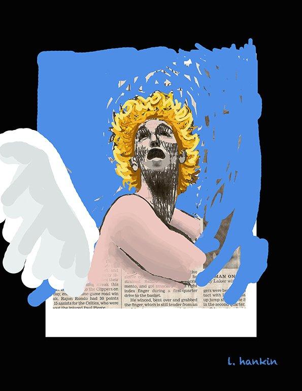 ANGEL IN TROUBLE by Larry Hankin