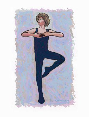 BALLET DANCER 0RIGINAL by Larry Hankin