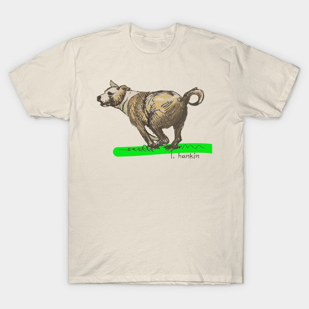 Bryan's Dog Creme T-shirts