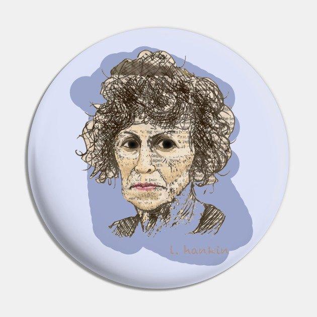 Lady & Hair Pin
