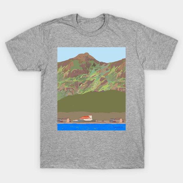Blue Sky Lake T-shirts